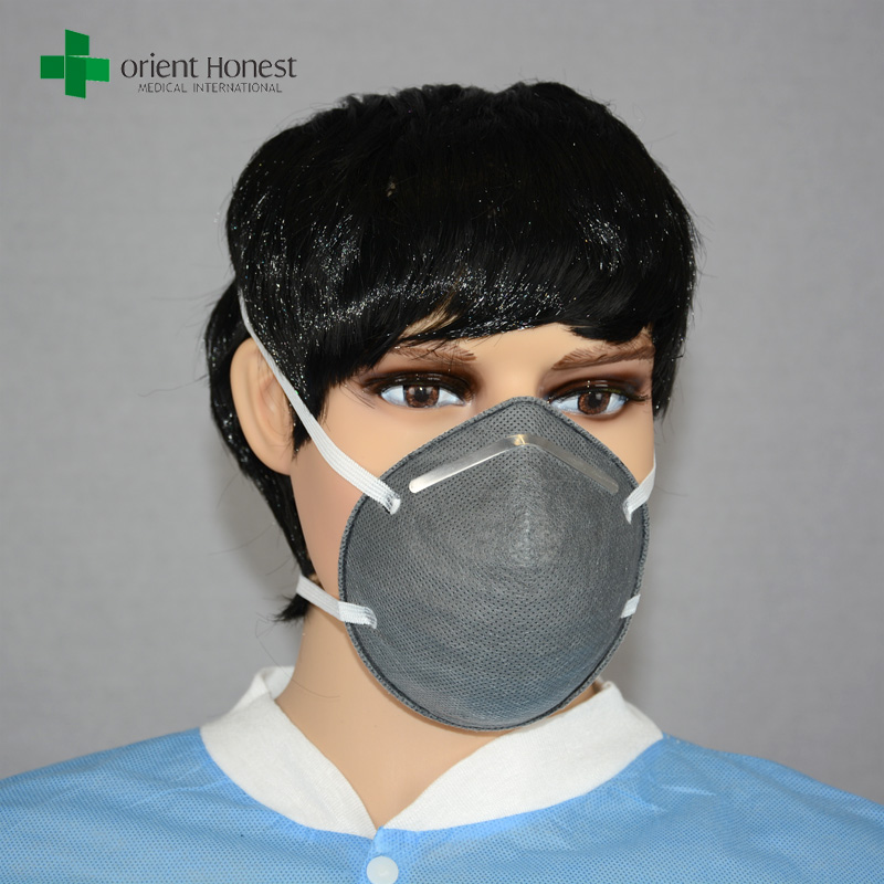 FFP1/FFP2/FFP3 active carbon N95 dust mask without respiration valve (ISO/CE/FDA/Nelson approved)