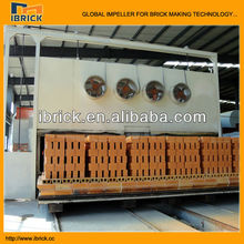 Bangladesh factory gas fired kiln bricks for sale/clay brick tunnel kiln