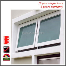 Casement Bay Window with Frame Thickness 1.4MM 2.0MM Rainproof China Thermal Break Crank Out Awning Double Hung Casement Windows