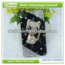 New Absorbing Cat Rhinestone Luxury Bling Diamond Crystal Case Cover for iphone /Sumsung/Blackberry