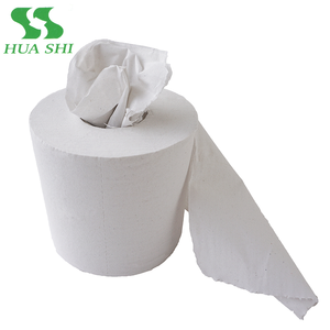 Standard roll size virgin mix virgin recycle water soluble family toilet tissue paper roll factory