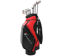 Complete set of golf clubs wholesale 12pcs with stand PU bag