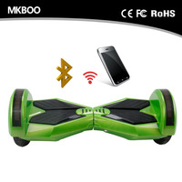 2015 new technology 8 inch two wheel smart balance electric scooter Bluetooth with music control