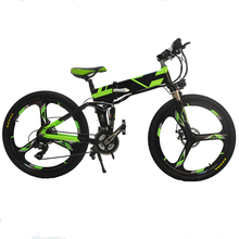Wholesale Folding Electric Bike 48v Electric Dirt Bikes for Adults Pedal Assistant Electric Folding Mountain Bicycle