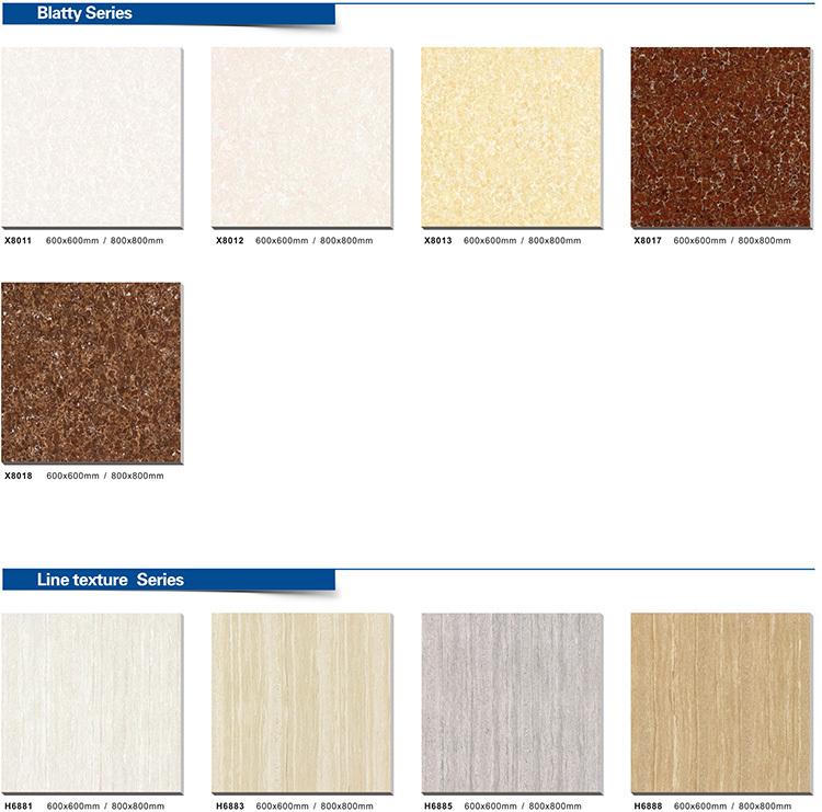 Standard ceramic floor tile thickness