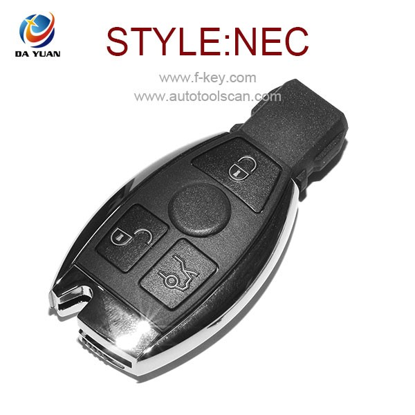 Remote Key Original for Mercedes NEC car key with 3 Button remote control AK002022