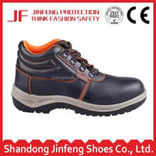 high quality ankle acid resistant buffalo leather mining safety shoes steel toe