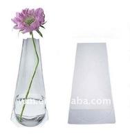 Promotional foldable PVC plastic flower vase