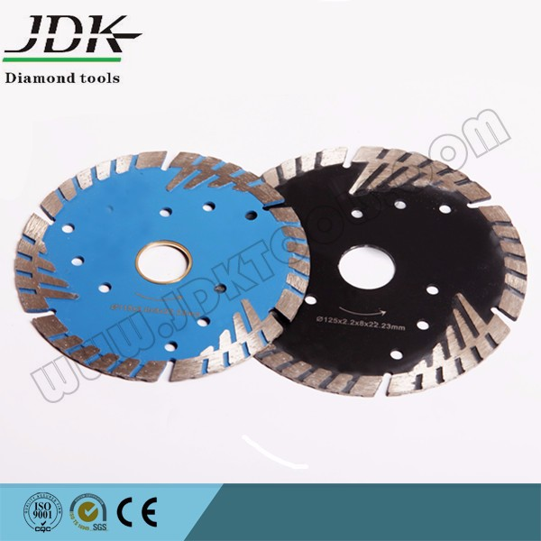 100mm protection teeth diamond cutting saw blade