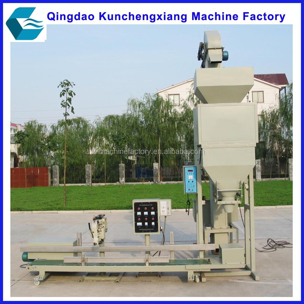 Full automatic 50kg rice weighing packng machine