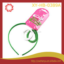 fashion decorative plastic kids headband