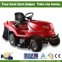 16HP Ride on Lawn Tractor mower with cutting grass