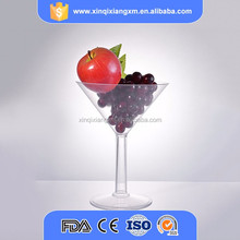 customized disposable drinking plastic wine glasses