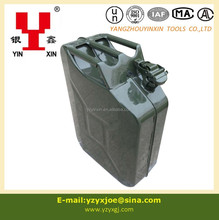20L steel jerry can/hand oil can pump/standard oil drum