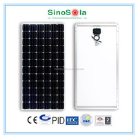 Monocrystalline solar panel 300w made of high efficiency A-grade crystalline cells
