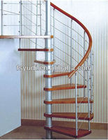 modern design interior circular stair