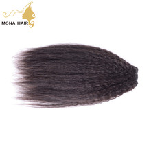 chinese human hair hot sale yaki straight no mixed real hair