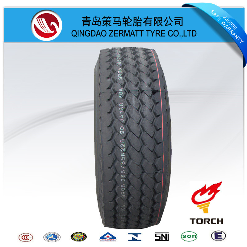 High quality good price semi truck tire sizes 385/65R22.5 tire