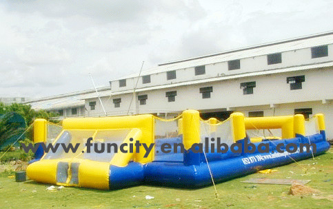 2014 Popular inflatable foosball field/inflatable football arena for sale