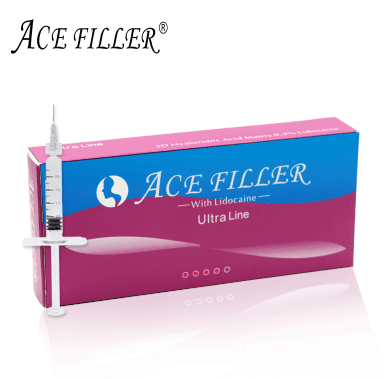 1ml Ultra line ACE dermal filler beauty product for personal skin care