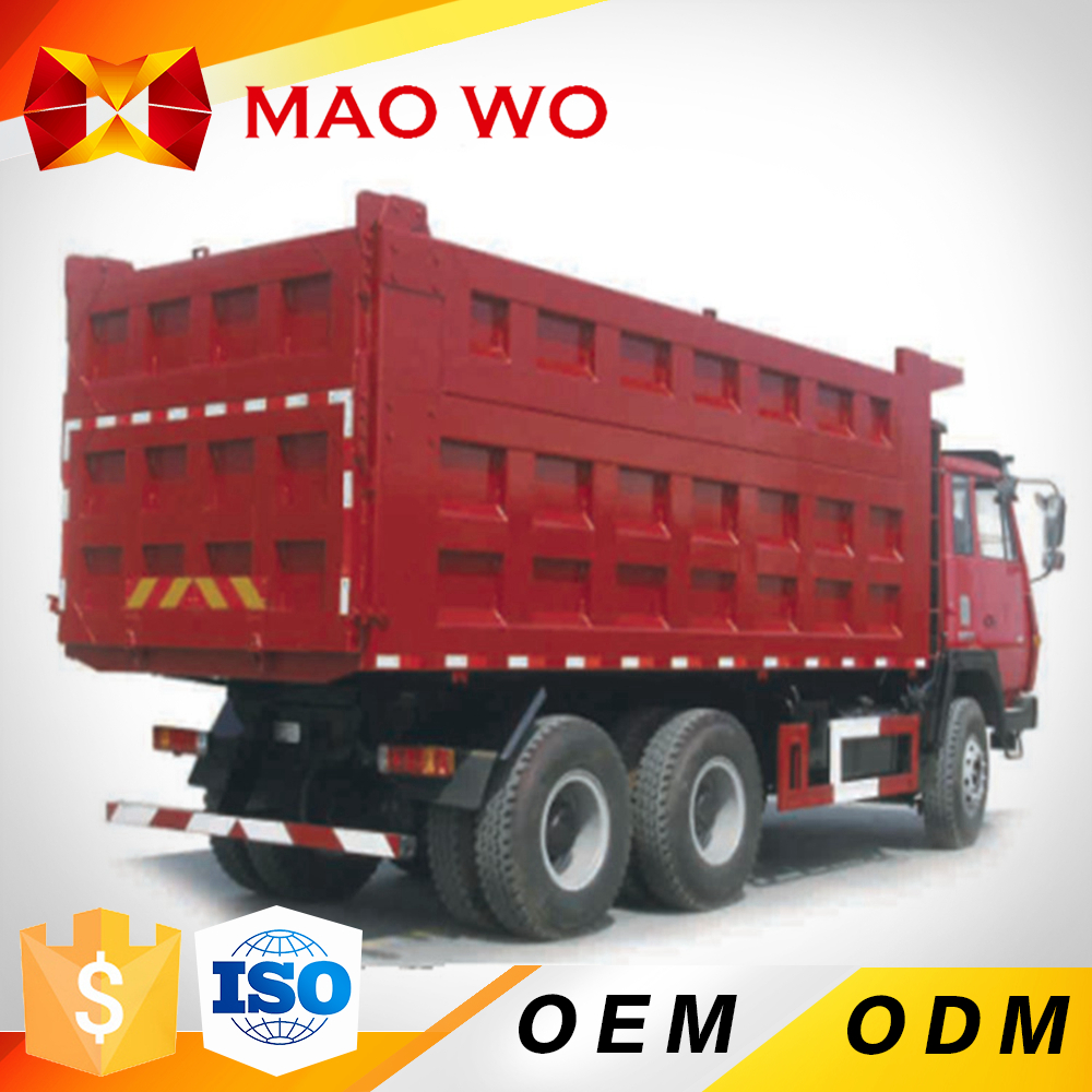 HOWO SHACMAN 3 axles small tipper dump trucks for sale Algeria
