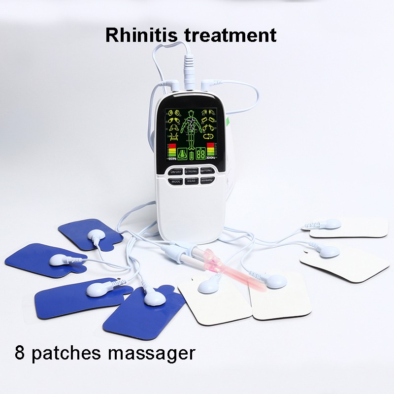 2017 New designing tens portable unit personal tens therapy massager / tens acupuncture massager unit / Dual output massager