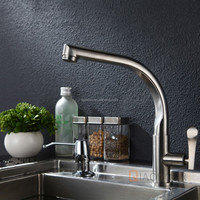 Alibaba online shop china factory discount cheap price kitchen brushed nickel faucets