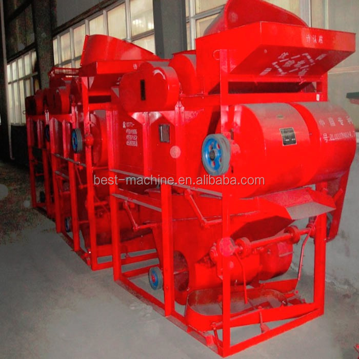 pretreatment peanut husking machine for making peanut oil
