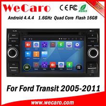 Wecaro WC-FU7016 Android 4.4.4 car dvd HD for ford transit radio player gps navigation 2005 - 2011 Steering Wheel Control