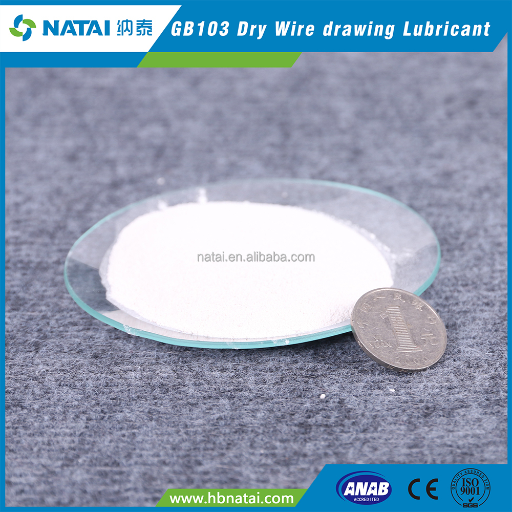 dry wire drawing industrial lubricant for welding electrode