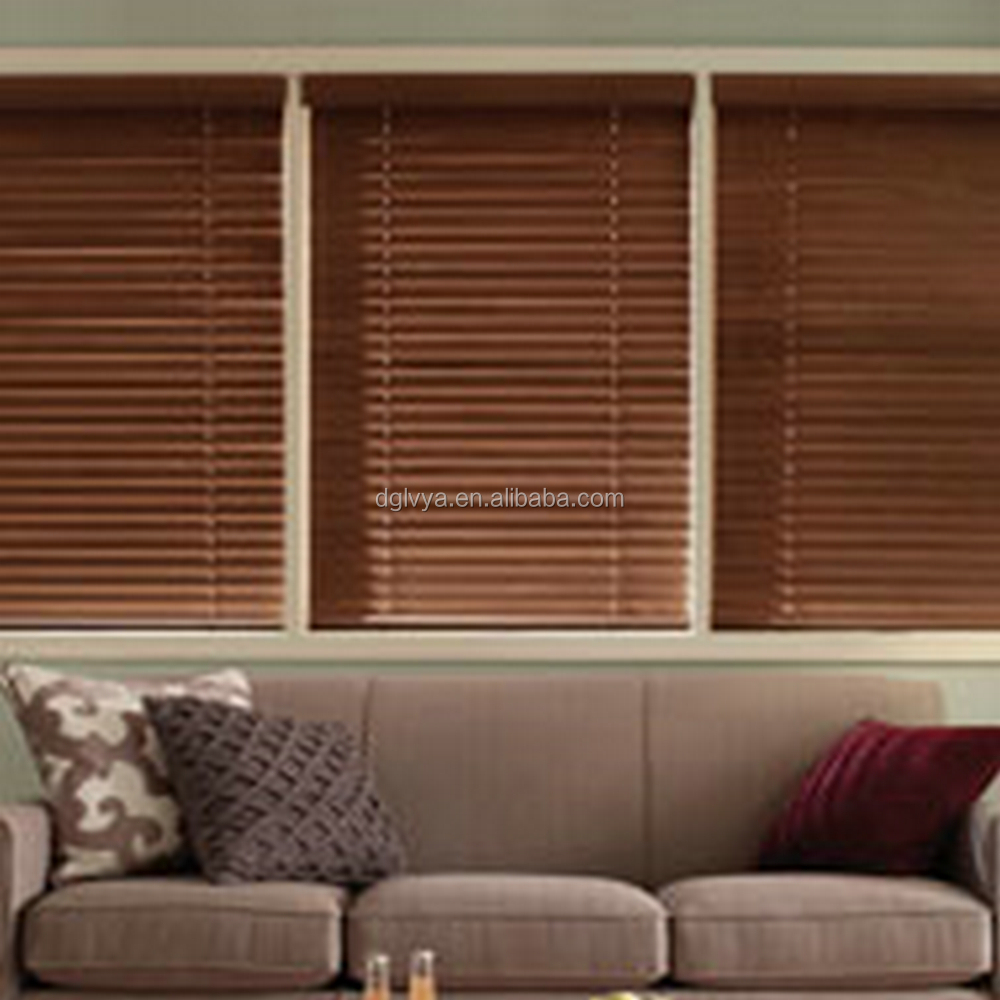 home interior venetian blinds with 50mm wood blade