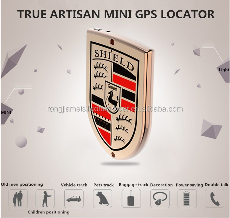 Shield Shape Personal Mini GPS Tracker Chirldren Tracker GPS Pets Tag