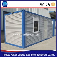 Shipping prefab modular container house easy to designs and install,pre-made container house