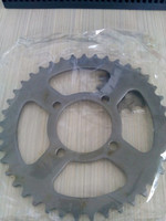 Chinese cheap motorcycle spare parts CD70 rear sprocket for sale