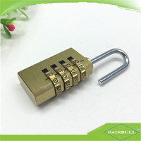 New travel 4-digi code safe combination number coded padlock