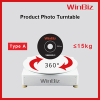 Photographic light equipment, 360 degrees rotating turntable ideal for small product like Jewelries, watches, shoes, glasses etc