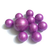 Decoration Colorful Purple Glass Marble