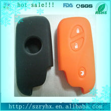 Best sale silicone rubber car key case for BYD S6