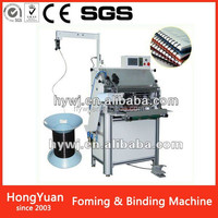 Whole sale ring spiral binding spiral wire binding machine