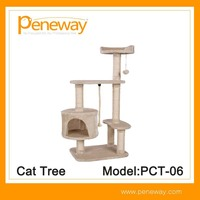 Perfect Quality assemble beautiful cat furnitures of tree with good price