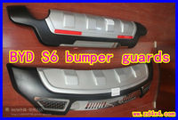 BYD S6 front and rear bumper guards,bumper guard protectors for BYD S6,BYD S6 auto motor parts accessories