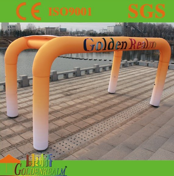 Customized advertising inflatable arch tent