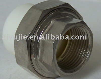 Environmental friendly and reliable PP-R fittings female threaded union