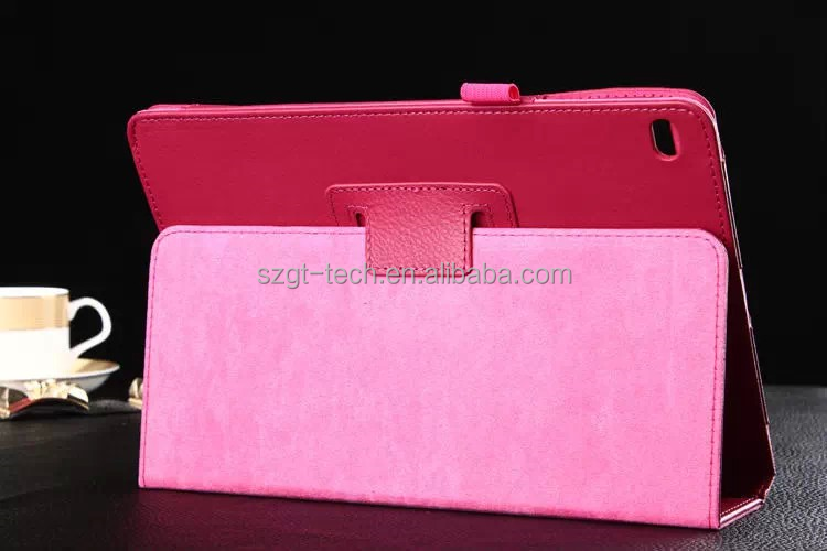 Two Fold Leather Case for Apple Tablet Ipad Air 2 With Stand