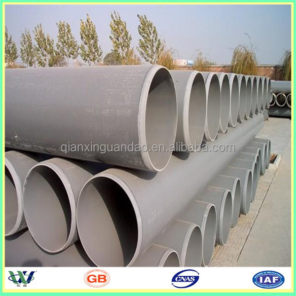 manufactory supply pvc pipe 2 inch price for water supply