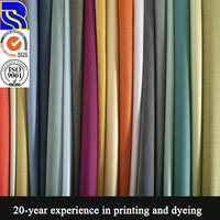 Up to date high-standard highly praised super-soft drapery fabric