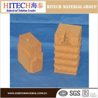 30%-45% Al2O3 lower porosity Refractory fire clay bricks for Pizza Ovens china supplier