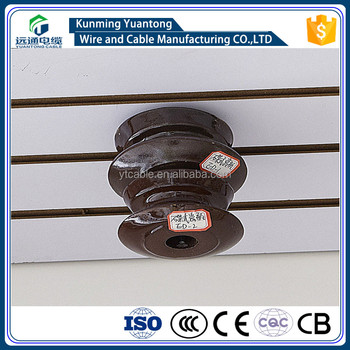 Low Voltage Porcelain Shackle Insulator /Butterfly Insulator