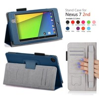 For Google nexus 7 2013 2nd tablet PC leather case