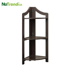 Cheap Modern Small Wood Storage Folding Bookshelf Corner <strong>Shelf</strong> for wholesale
